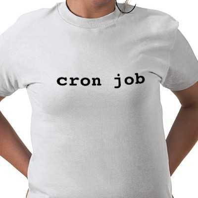 Write a cron job in unix