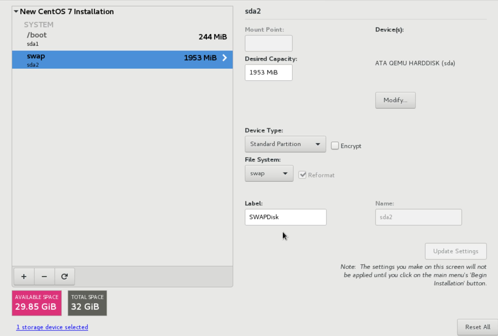 wikivps - chỉnh sửa phân vùng swap