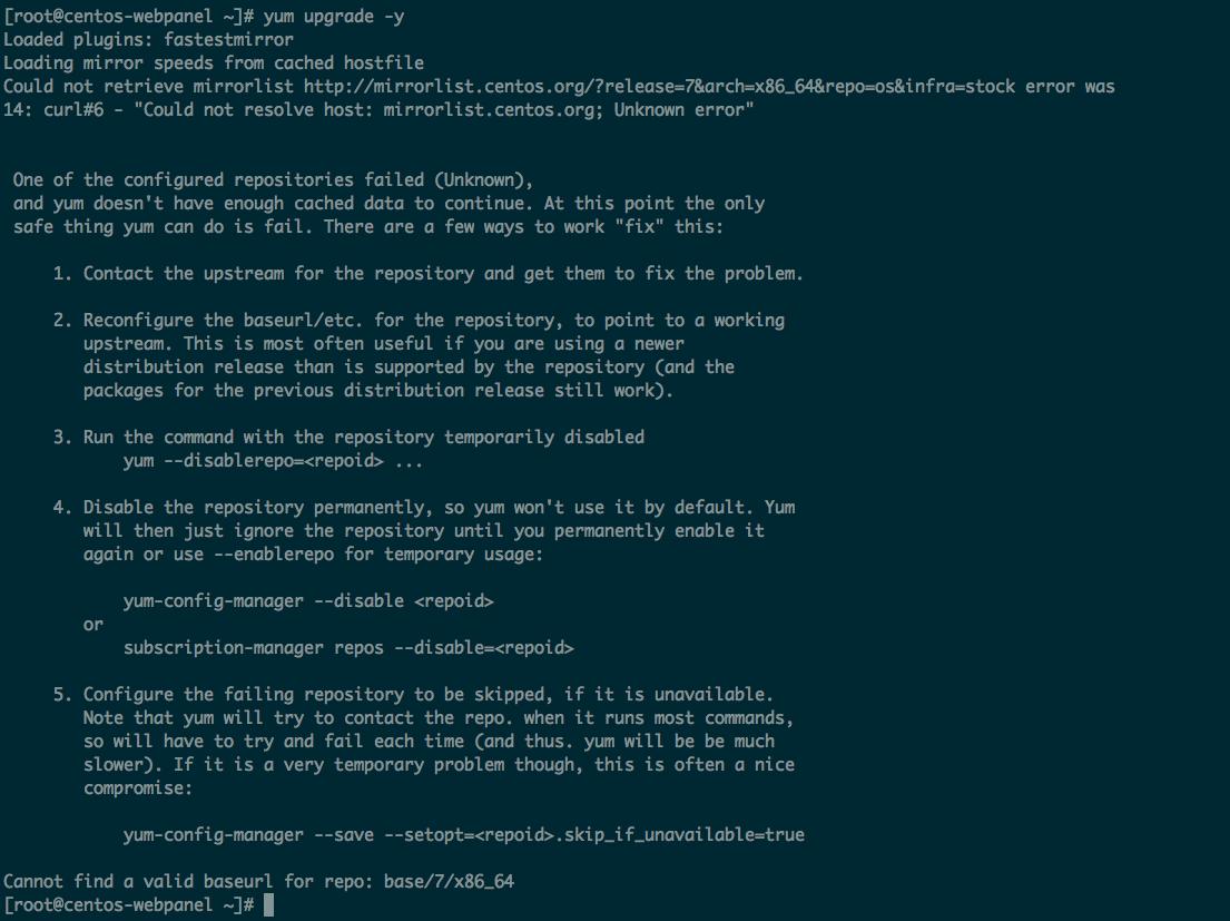 Cách xử lý lỗi Could not resolve host | WikiVPS quản trị VPS