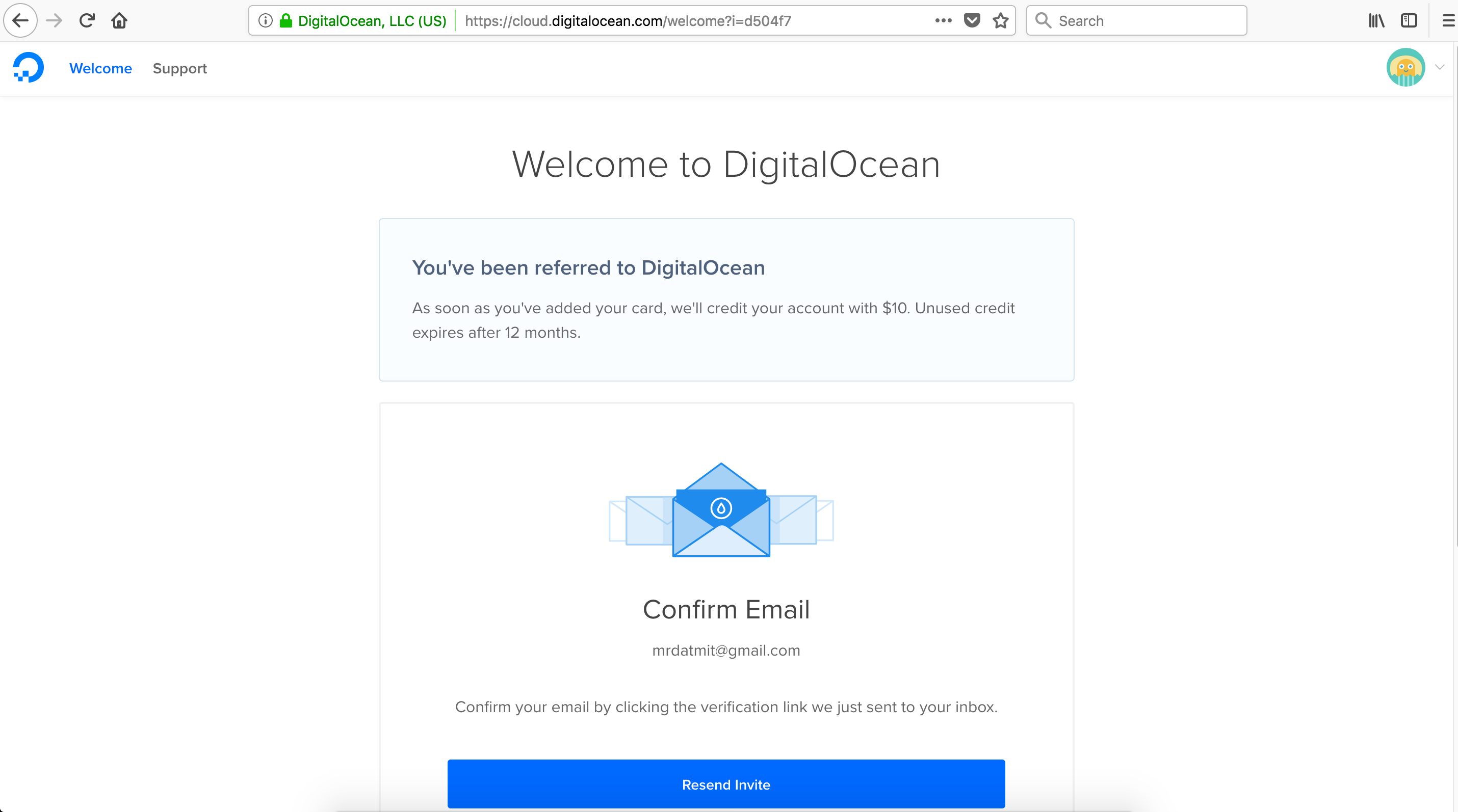 wikivps-welcome to digitalocean
