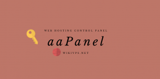 wikivps- aapanel - Web hosting control panel