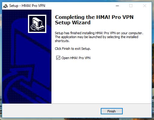 wikivps-hma cài đặt thành công