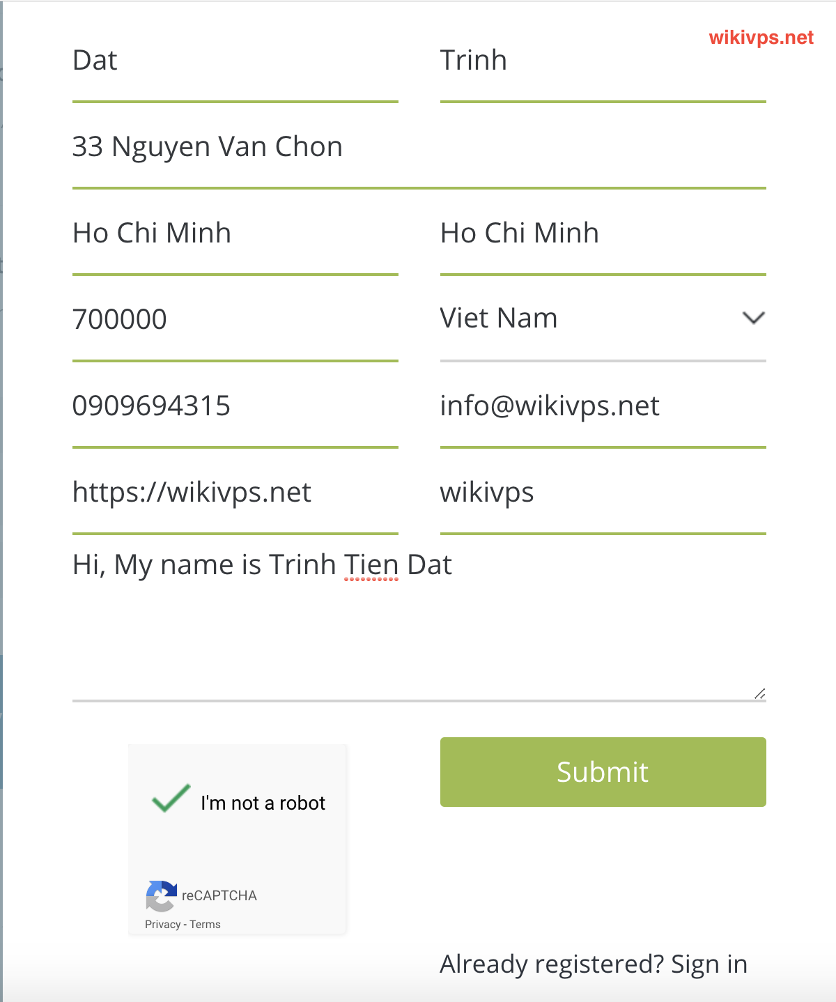 wikivps-fill infos