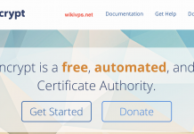 wikivps-let's encrypt