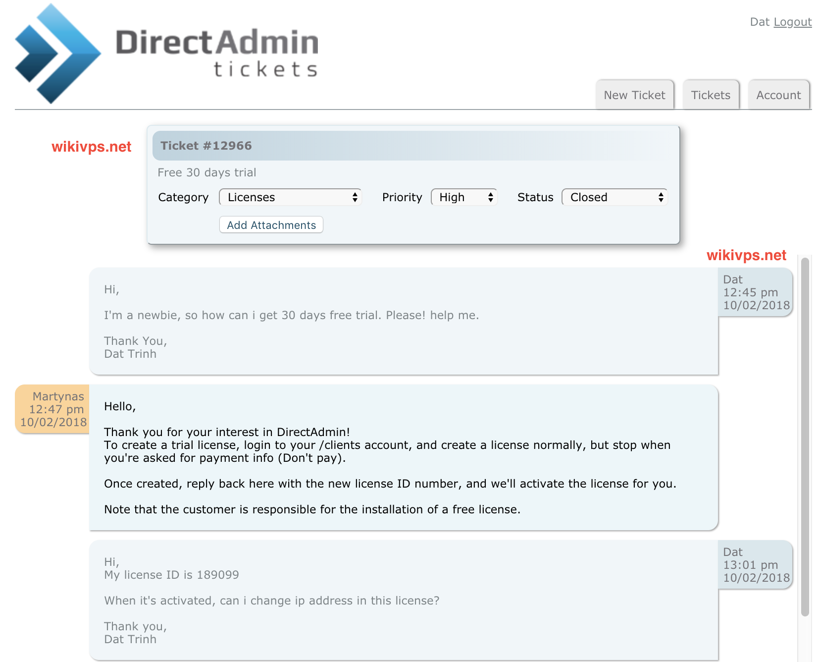 wikivps-directadmin supported 1