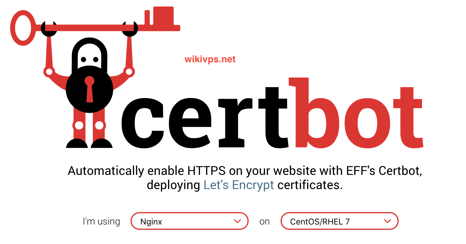 wikivps- install ssl let's encrypt for web server on centos