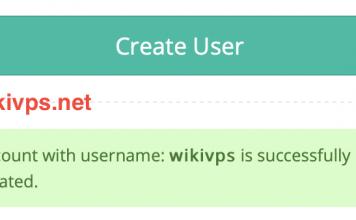 tạo thành công end user