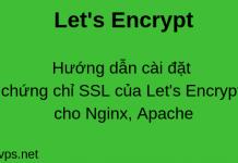 wikivps-setup ssl let's encrypt for apache, nginx